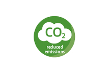 Reduced emmisions CO2